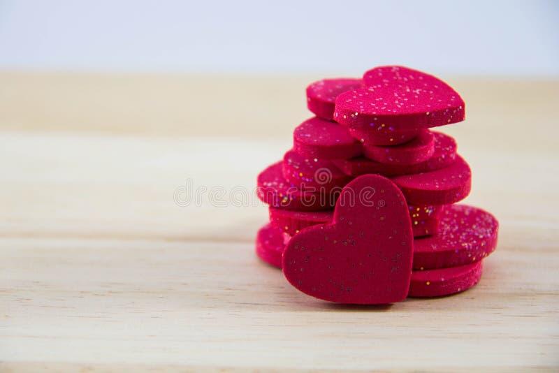 Κόκκινη καρδιά ομάδας στοκ φωτογραφία
