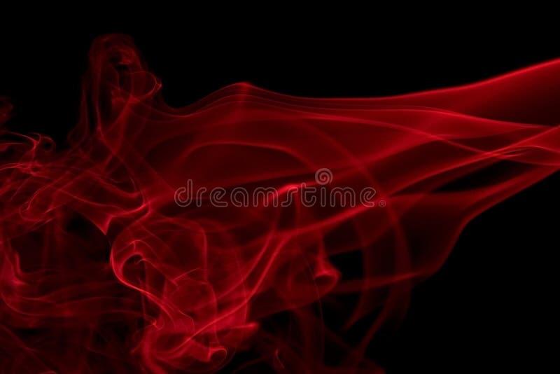 Κόκκινη λεπτομέρεια καπνού στοκ εικόνες