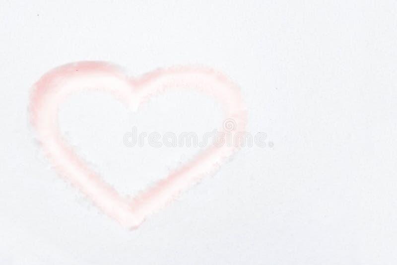 Κόκκινη μορφή καρδιών στοκ εικόνα