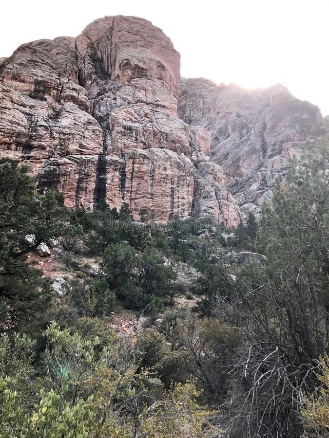 Κόκκινη περιοχή συντήρησης φαραγγιών βράχου, Νεβάδα, ΗΠΑ στοκ εικόνα με δικαίωμα ελεύθερης χρήσης