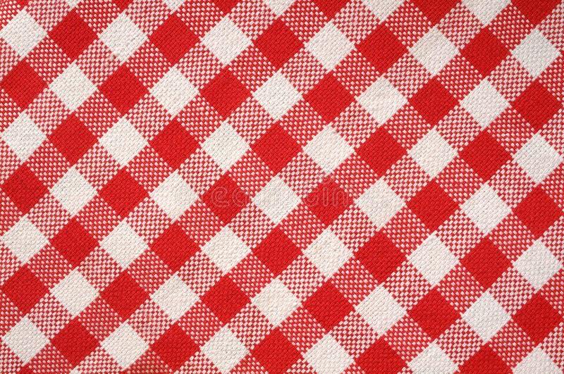 κόκκινη πετσέτα σύστασης στοκ φωτογραφία με δικαίωμα ελεύθερης χρήσης