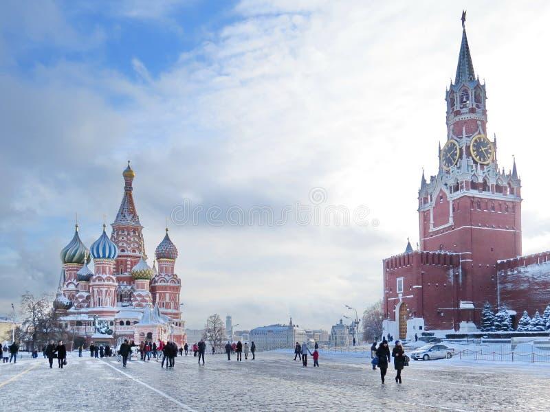 Κόκκινη πλατεία στοκ φωτογραφία