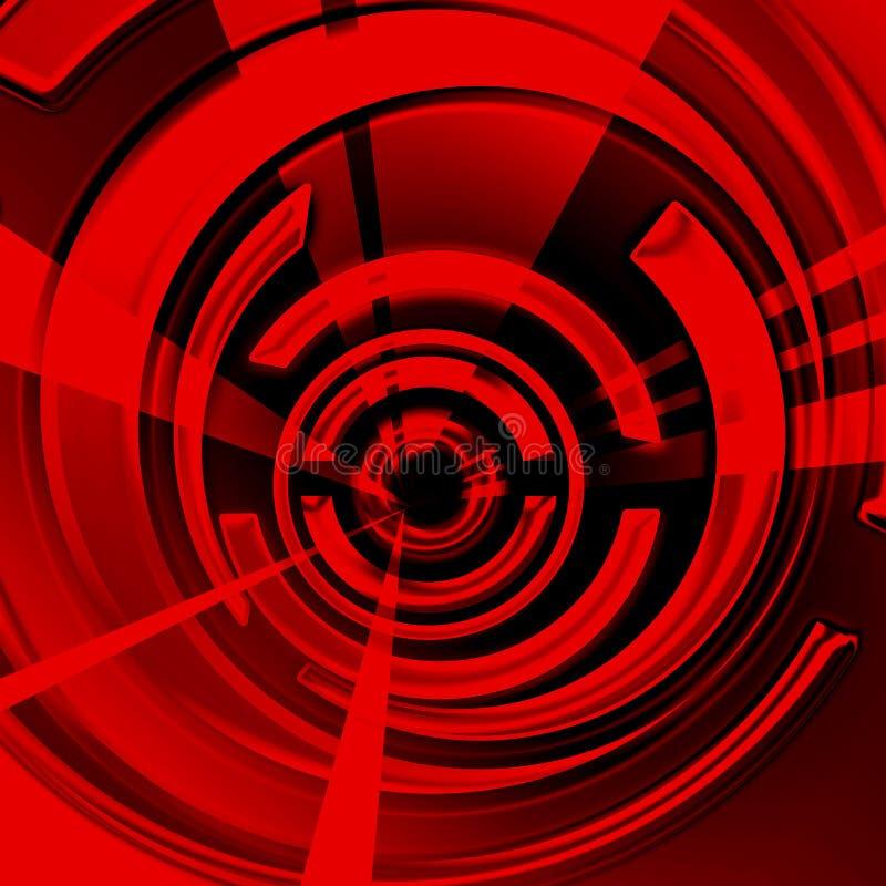 κόκκινη σπείρα στοκ εικόνα με δικαίωμα ελεύθερης χρήσης