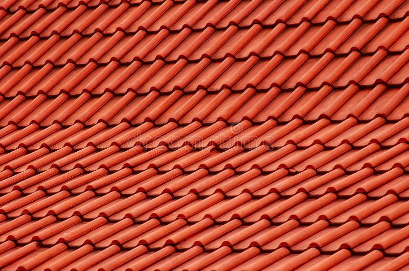 κόκκινη στέγη στοκ εικόνα