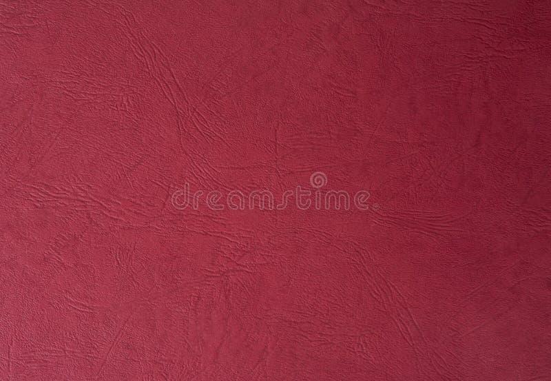 Κόκκινη σύσταση δέρματος χρωμάτων Χρήσιμος για το αφηρημένο υπόβαθρο με το διάστημα αντιγράφων στοκ φωτογραφία με δικαίωμα ελεύθερης χρήσης