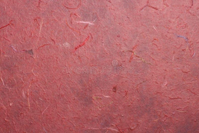 Κόκκινη σύσταση μουριών εγγράφου για το σχέδιο στοκ φωτογραφία