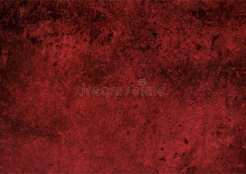 Κόκκινη σύσταση τοίχων υποβάθρου, grunge σύσταση στοκ εικόνα με δικαίωμα ελεύθερης χρήσης
