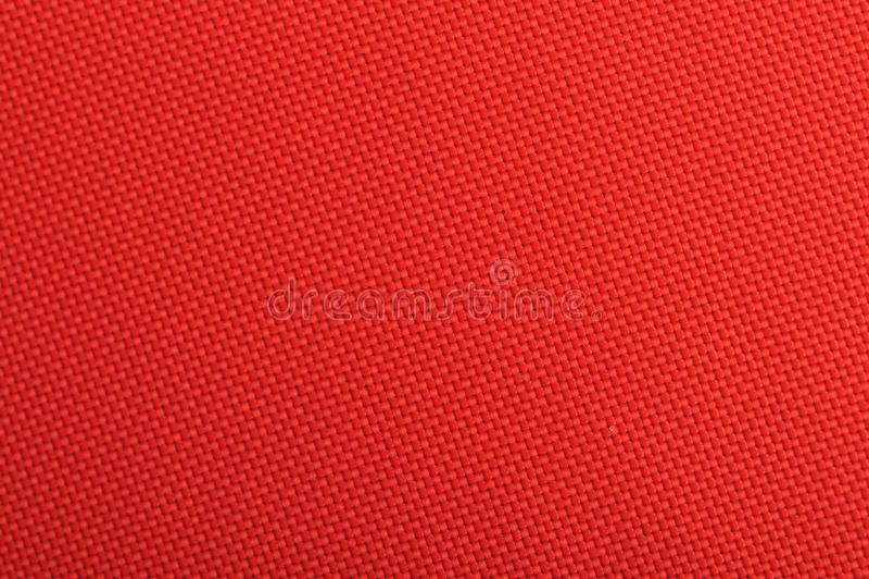 Κόκκινη σύσταση υποβάθρου υφάσματος στοκ φωτογραφία