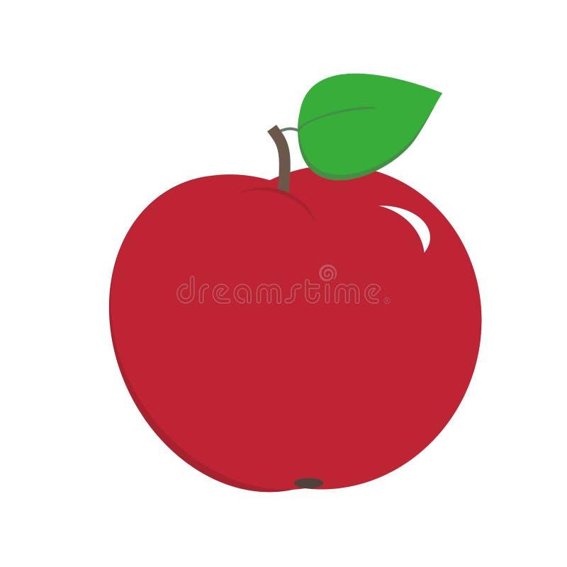 Κόκκινη τέχνη συνδετήρων μήλων στοκ φωτογραφία με δικαίωμα ελεύθερης χρήσης