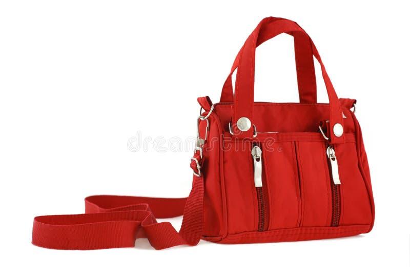 Κόκκινη τσάντα στοκ φωτογραφία με δικαίωμα ελεύθερης χρήσης
