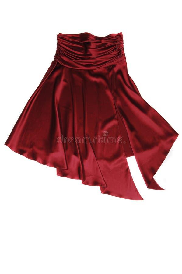 Κόκκινη φούστα Στοκ Φωτογραφία