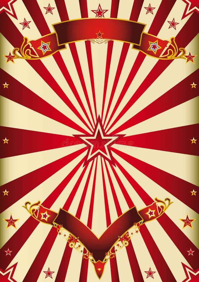 Κόκκινη ψυχαγωγία υποβάθρου στοκ εικόνα με δικαίωμα ελεύθερης χρήσης