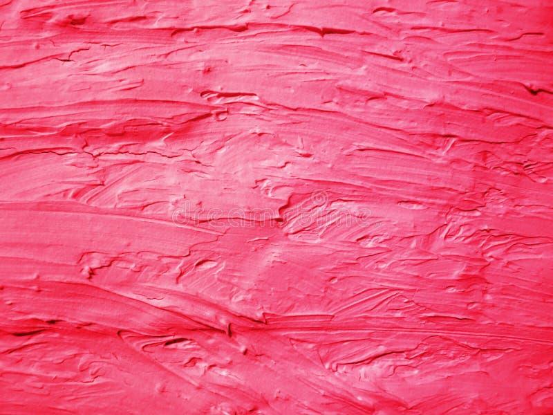 Κόκκινος ασπρισμένος τοίχος Σύσταση Grung στοκ φωτογραφία
