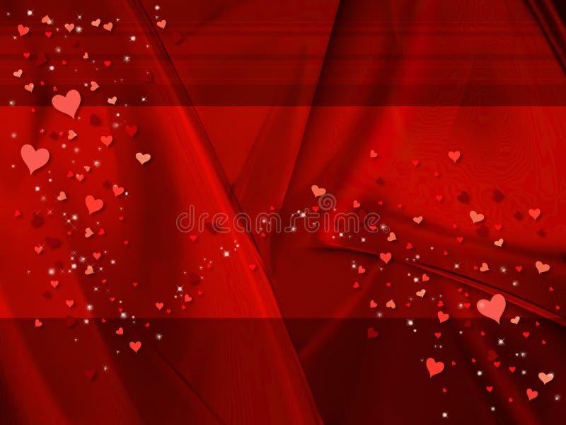 κόκκινος βαλεντίνος ανα απεικόνιση αποθεμάτων