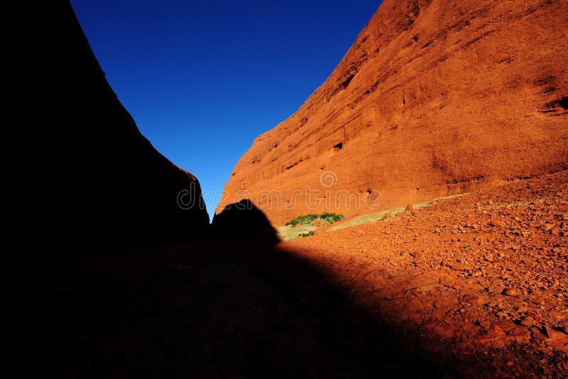 Κόκκινος βράχος της Αυστραλίας στοκ φωτογραφία με δικαίωμα ελεύθερης χρήσης