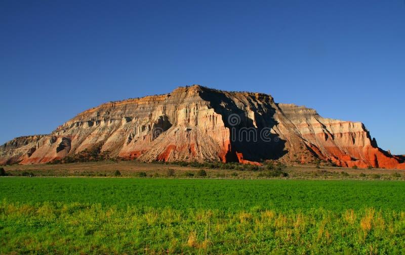 κόκκινος βράχος 6 αγροκτ&et στοκ φωτογραφία