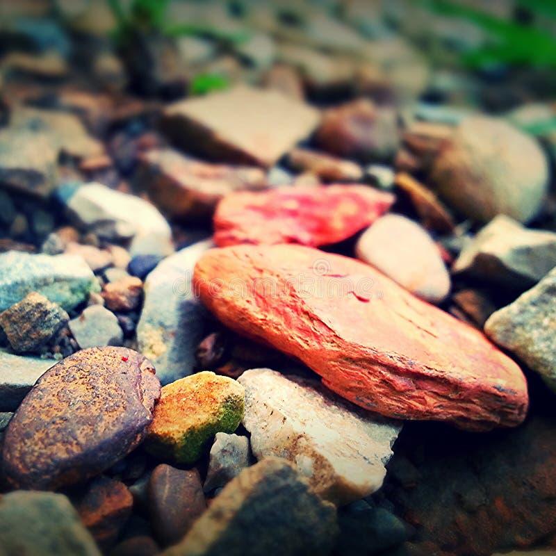 κόκκινος βράχος στοκ εικόνες