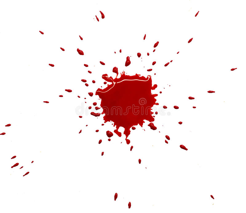 Κόκκινος λεκές στοκ φωτογραφία με δικαίωμα ελεύθερης χρήσης