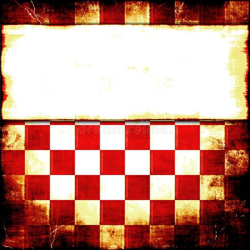 Κόκκινος ελεγκτής Grunge ελεύθερη απεικόνιση δικαιώματος