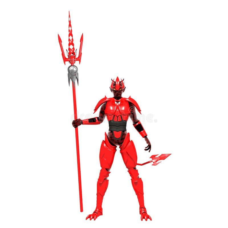 Κόκκινος διάβολος στοκ εικόνες με δικαίωμα ελεύθερης χρήσης