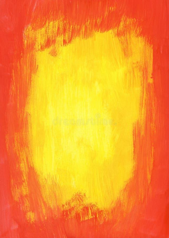 κόκκινος κίτρινος ανασκόπησης στοκ φωτογραφία