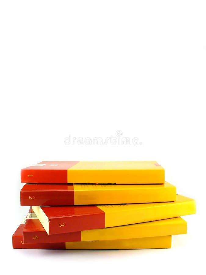 κόκκινος κίτρινος σωρών στοκ φωτογραφία με δικαίωμα ελεύθερης χρήσης