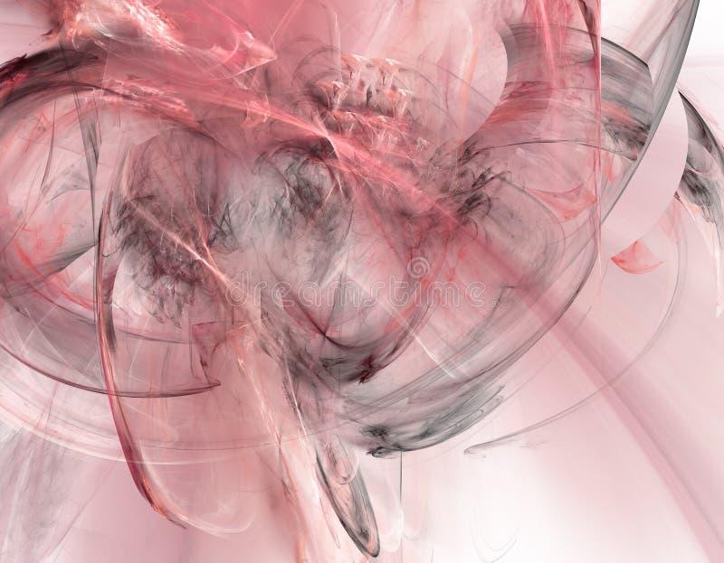 κόκκινος καπνός ανασκόπη&sigma διανυσματική απεικόνιση