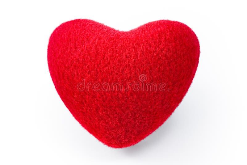 κόκκινος μαλακός καρδιών στοκ φωτογραφίες με δικαίωμα ελεύθερης χρήσης