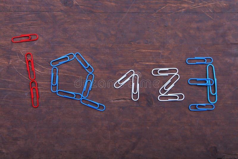 Κόκκινος μπλε πίνακας scarper δείκτη νοημοσύνης στοκ φωτογραφία με δικαίωμα ελεύθερης χρήσης