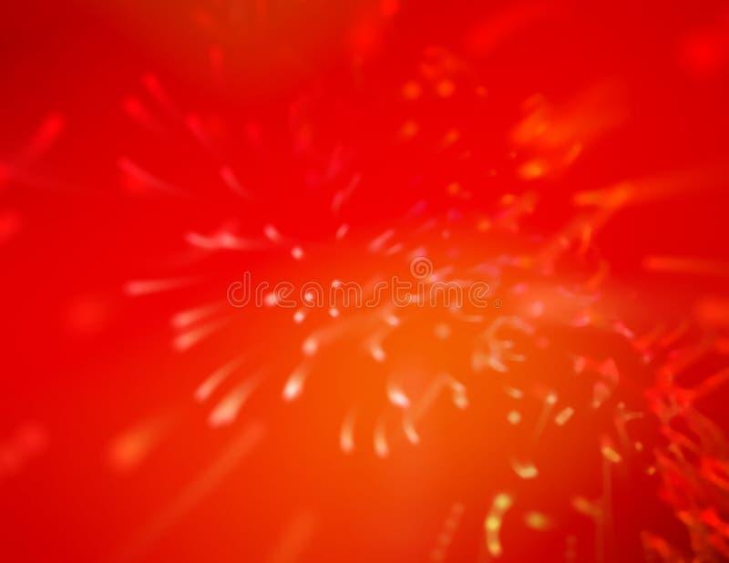 κόκκινος παφλασμός Στοκ Εικόνα