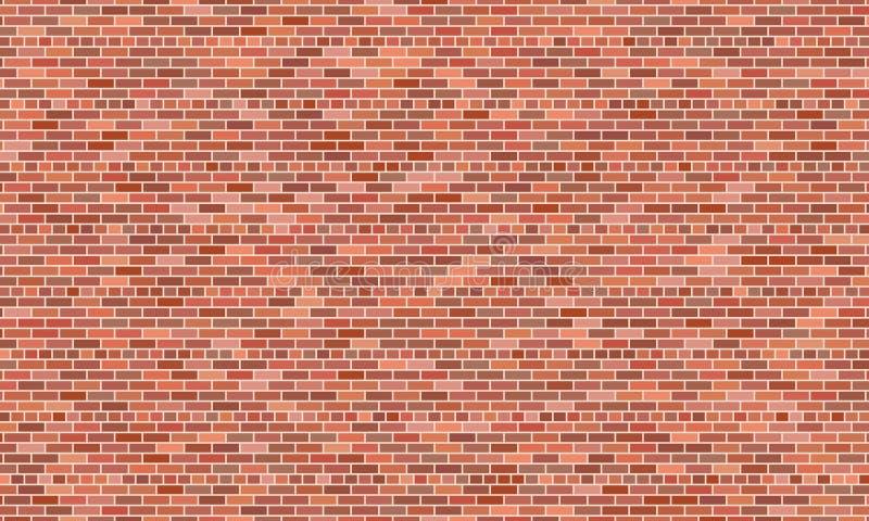κόκκινος τοίχος τούβλο&ups ελεύθερη απεικόνιση δικαιώματος