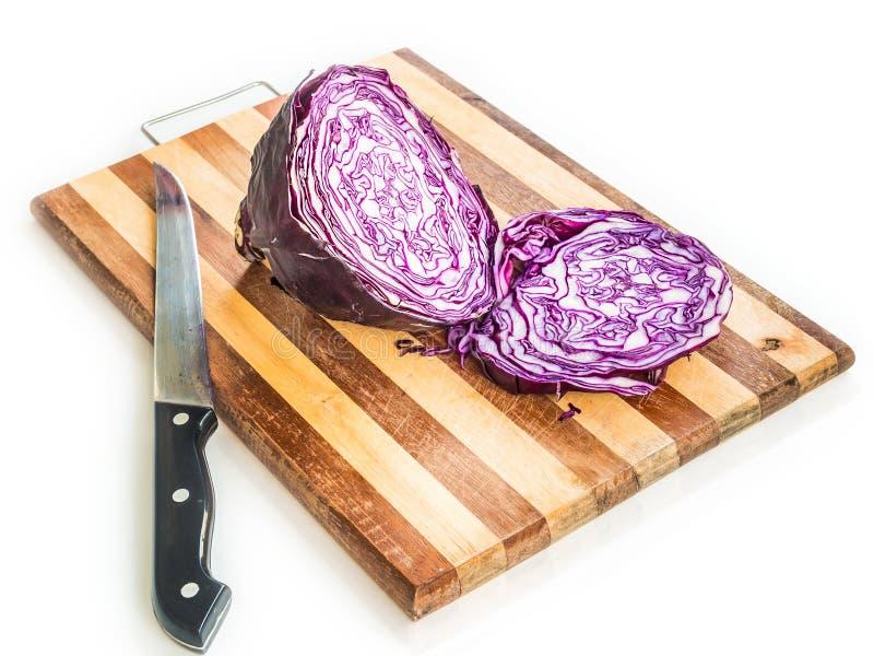 Κόκκινο λάχανο στοκ φωτογραφία με δικαίωμα ελεύθερης χρήσης