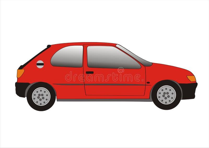κόκκινο αυτοκινήτων στοκ εικόνες