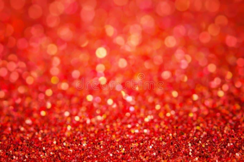 Κόκκινο αφηρημένο υπόβαθρο - κόκκινο υπόβαθρο bokeh στοκ φωτογραφία με δικαίωμα ελεύθερης χρήσης