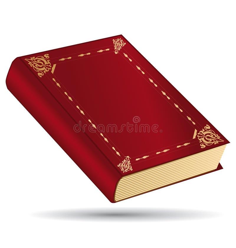 κόκκινο βιβλίων απεικόνιση αποθεμάτων