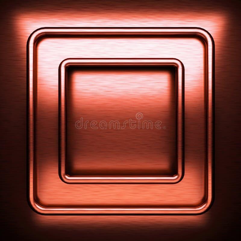 Κόκκινο βουρτσισμένο υπόβαθρο μετάλλων στοκ εικόνες
