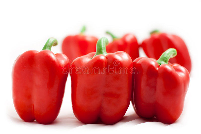 κόκκινο γλυκό paprica στοκ φωτογραφίες με δικαίωμα ελεύθερης χρήσης