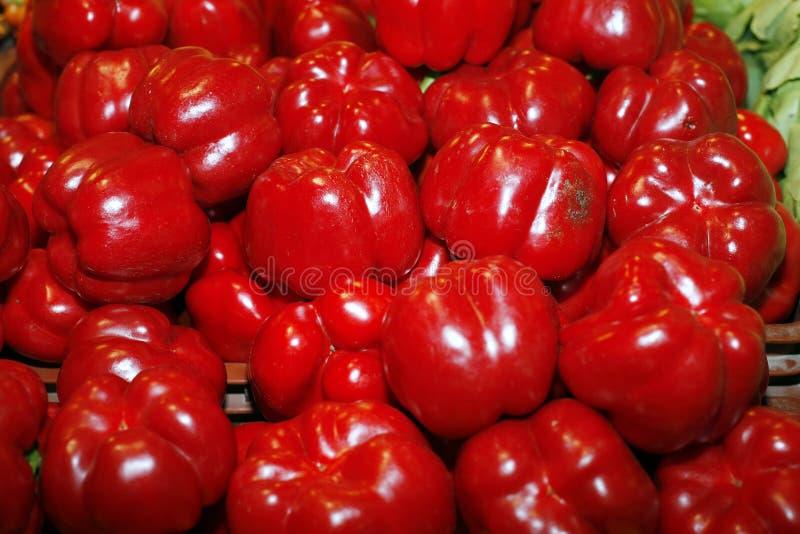 κόκκινο γλυκό πιπεριών στοκ φωτογραφίες με δικαίωμα ελεύθερης χρήσης