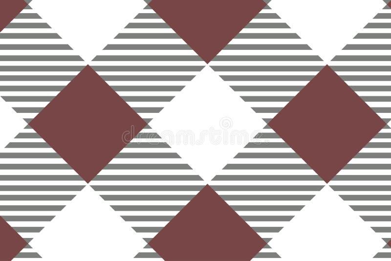 Κόκκινο διαγώνιο Gingham σχέδιο Σύσταση από το ρόμβο/τετράγωνα για - καρό, τραπεζομάντιλα, ενδύματα, πουκάμισα, φορέματα, έγγραφο απεικόνιση αποθεμάτων