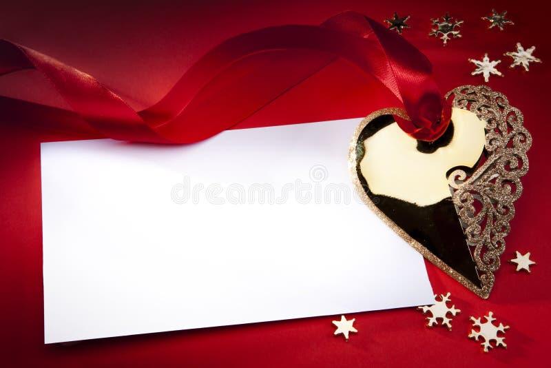 κόκκινο διακοσμήσεων Χρ&i στοκ φωτογραφίες με δικαίωμα ελεύθερης χρήσης