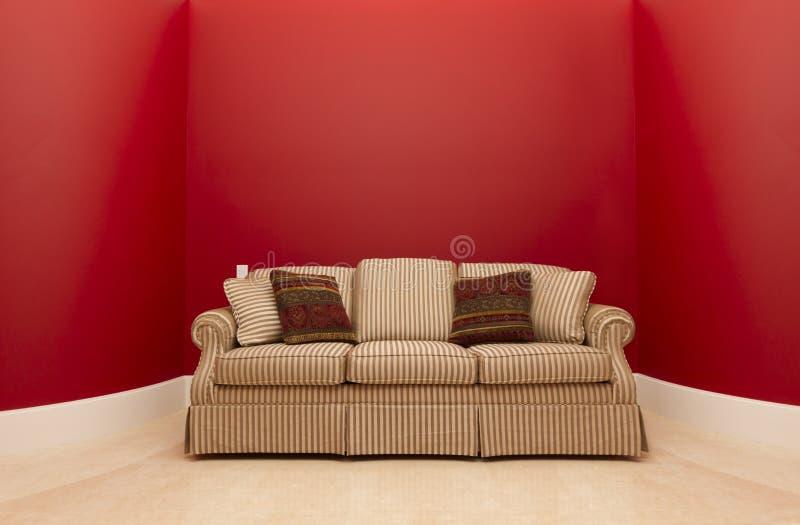 κόκκινο δωμάτιο στοκ φωτογραφίες