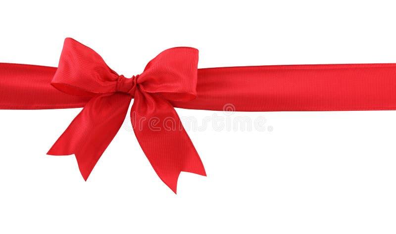 κόκκινο δώρων τόξων στοκ φωτογραφίες με δικαίωμα ελεύθερης χρήσης