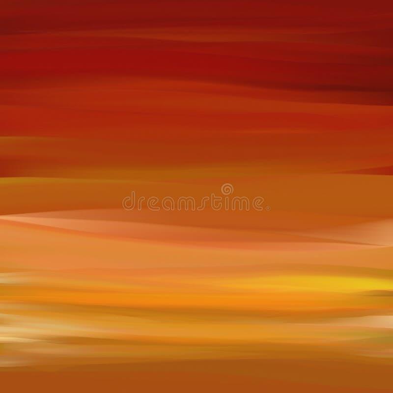 κόκκινο ελαφριάς ομίχλης απεικόνιση αποθεμάτων
