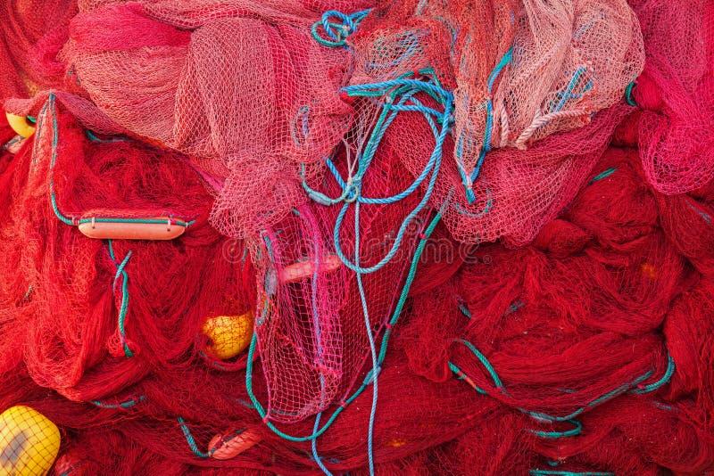 κόκκινο διχτίων του ψαρέμ&alpha Σρι Λάνκα στοκ εικόνα με δικαίωμα ελεύθερης χρήσης