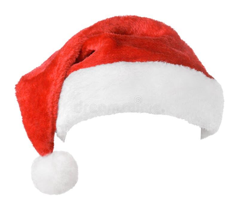 Κόκκινο καπέλο Άγιου Βασίλη στοκ φωτογραφία με δικαίωμα ελεύθερης χρήσης