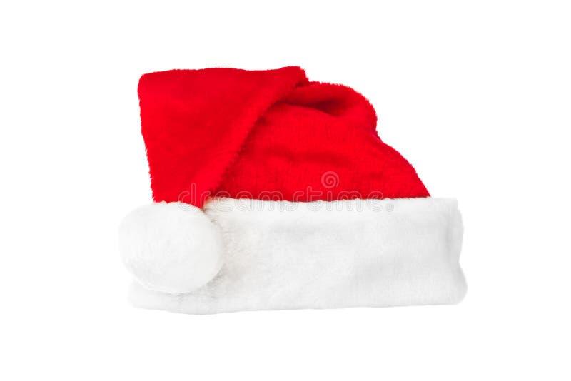 Download Κόκκινο καπέλο Χριστουγέννων Άγιου Βασίλη Στοκ Εικόνα - εικόνα από αντικείμενο, ένας: 62702929