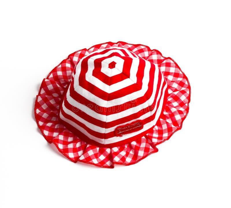 Κόκκινο καπέλο στοκ εικόνα