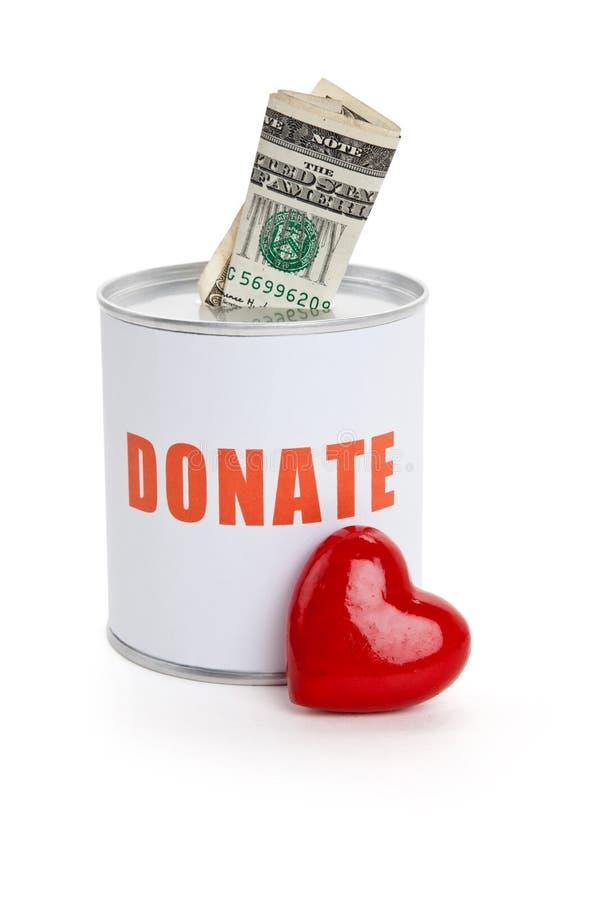 κόκκινο καρδιών δωρεάς κ&iota στοκ φωτογραφίες