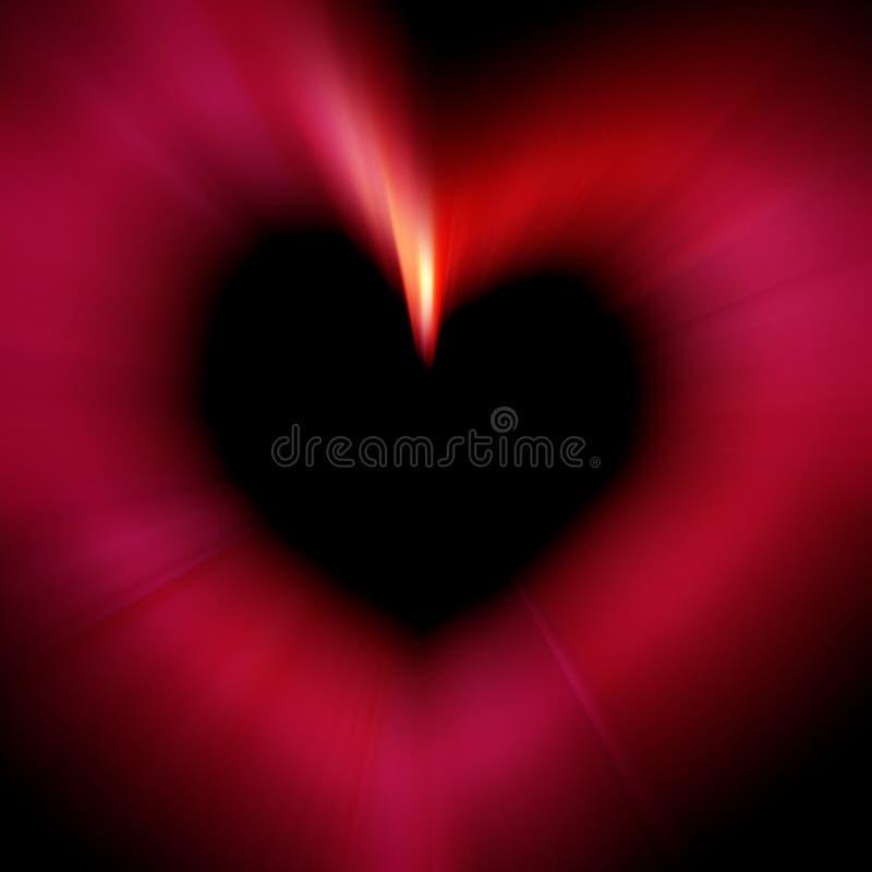 Download κόκκινο καρδιών απεικόνιση αποθεμάτων. εικόνα από πυράκτωση - 111095