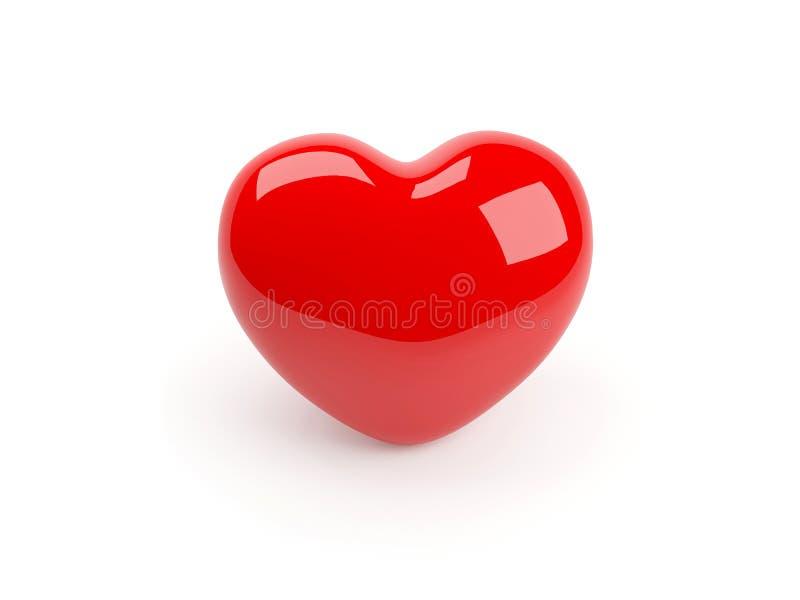 κόκκινο καρδιών ελεύθερη απεικόνιση δικαιώματος